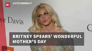 News video: Britney Spears Shares Her Mother's Day
