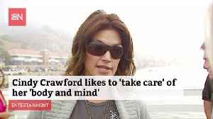Cindy Crawford Is Health Conscious [Video]