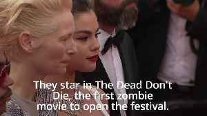 Cannes Film Festival opens with zombie movie The Dead Don't Die [Video]