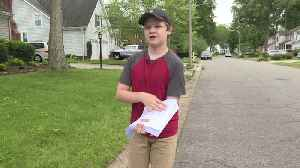 How a Virginia Boy`s Letter is Spreading Patriotism Across His Community [Video]