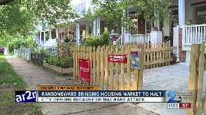 Ransomware bringing housing market to a hold [Video]