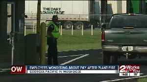 Employees wonder about heading back to work after plant explosion [Video]