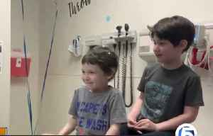 5-year-old boy beats cancer [Video]