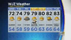 Bob Turk Has The Final Look At Your Tuesday Night Forecast [Video]