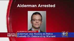 Ald. Proco 'Joe' Moreno Arrested And Charged With Filing A False Police Report [Video]