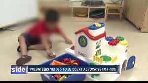 News video: Children in danger need volunteers to protect their best interests in courts