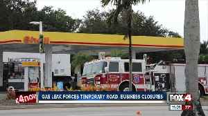 Gas leak shutdown roads and businesses in Fort Myers [Video]