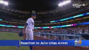 Dodgers Pitcher Julio Urias Arrested For Domestic Violence [Video]