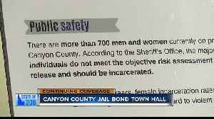Canyon County jail bond town hall meeting [Video]
