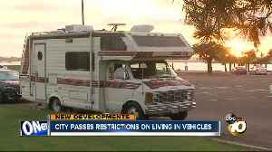 San Diego passes new law to limit habitation in vehicles [Video]