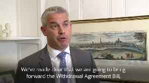 Stephen Barclay: Brexit voting in Parliament should reflect manifestos [Video]
