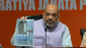 'TMC caused voilence during roadshow': Amit Shah presents photo evidence [Video]
