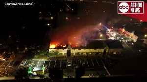 Crews battle 2-alarm fire at Captiva Club Apartments in Town 'n' Country | Drone Video [Video]