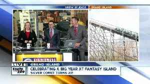 Celebrating a big year at Fantasy Island by riding the Silver Comet [Video]