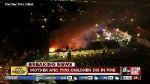 Mother, 2 children killed in 2-alarm apartment fire [Video]