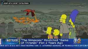 'The Simpsons' Predicted 'Game Of Thrones' Episode [Video]