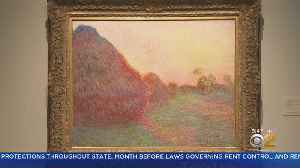Monet Painting Auctioned For Record $110.7M [Video]