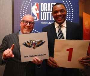 News video: New Orleans Pelicans Win No. 1 Pick In NBA Draft Lottery