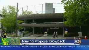 UC Regents To Consider Housing Proposal On Berkeley Campus [Video]