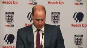 Prince William helps launch 'Heads Up' [Video]