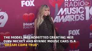 Heidi Klum excited to create Mickey Mouse ears [Video]