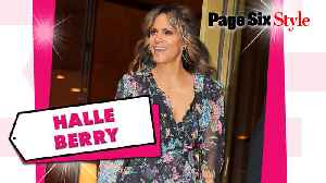Halle Berry kept it fresh in a $14K floral look [Video]