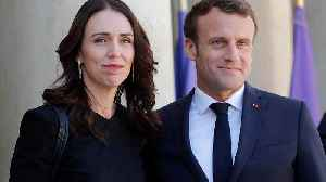 Macron and Ardern seek pledge to eliminate violent content online [Video]