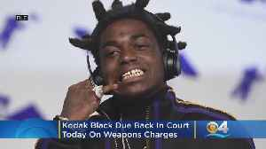 South Florida Rapper Kodak Black Due In Federal Court On Weapons Charges [Video]