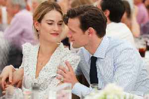 Lily James travelling Europe with 'pocket sized' Matt Smith [Video]
