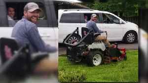 Illinois Man Takes it Upon Himself to Mow High Grass at Dollar Store [Video]