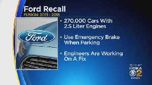 News video: Ford Adds Thousands Of Cars To Unintended Rollaway Recall