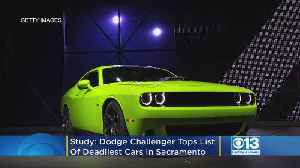Study: Dodge Challenger Tops List Of Deadliest Cars In Sacramento [Video]