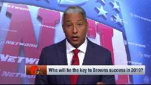 NFL Network's Steve Wyche on the Cleveland Browns: 'They might have the best defensive line in the NFL' [Video]