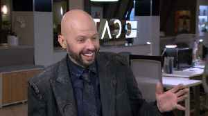 Jon Cryer On the Set Of 'Supergirl' [Video]