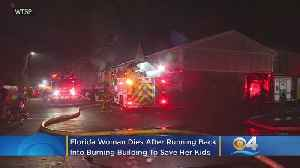 Florida Woman Runs Back Into Burning Apartment To Save Her Two Children, None Make It Out Alive [Video]