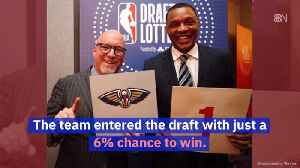 News video: New Orleans Pelicans Take First For NBA Draft Lottery