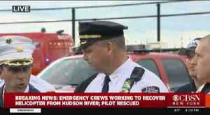 NYC Officials On Hudson Helicopter Crash [Video]