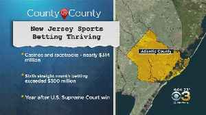 New Jersey Sports Betting Thriving [Video]