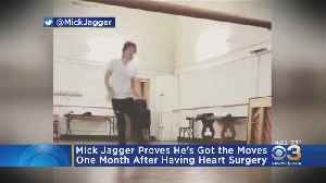 Mick Jagger Shows Heart Surgery Can't Stop His Moves [Video]