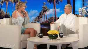 Taylor Swift Makes Talk Show Return on 'The Ellen Show' | THR News [Video]