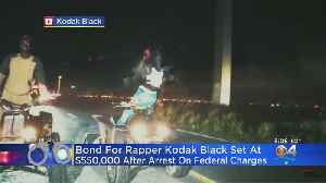 Rapper Kodak Black Pleads Not Guilty On Federal Weapons Charges [Video]