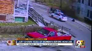 Jury shown video of moments before homicide [Video]