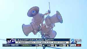 Howard County tests new flash flood warning system for Ellicott City [Video]