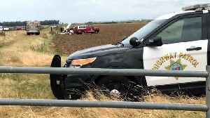2 Small Planes Collide In Midair Over Rural Sutter County [Video]