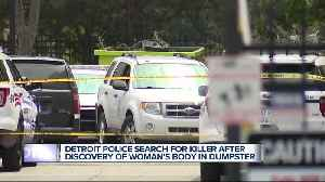 Detroit Police seeking killer of young woman left in dumpster [Video]