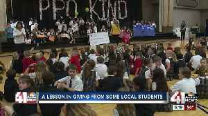 A lesson in giving from some local students [Video]