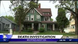 News video: Police investigating death of man found in Browne's Addition apartment
