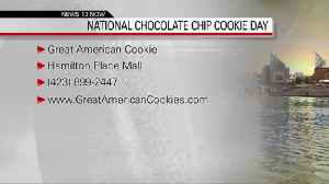 NATIONAL CHOCOLATE COOKIE DAY 05-15-19 [Video]
