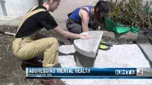 Art exhibit looks to raise awareness about mental health [Video]