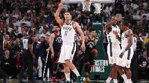 News video: Bucks, Behind Monster Fourth Quarter, Defeat Raptors in Game 1